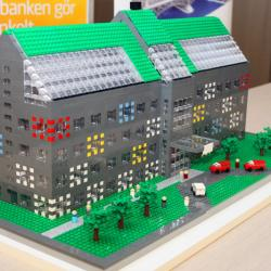 Modeller av LEGO visualiserar MyOffice